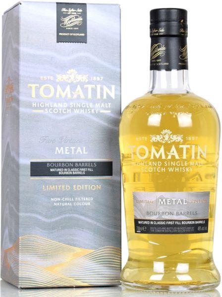 Tomatin Metal Five Virtues Series