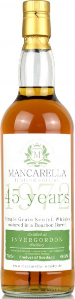 Invergordon 45 Jahre 1972/2018 Mancarella Whisky 49,5% vol.