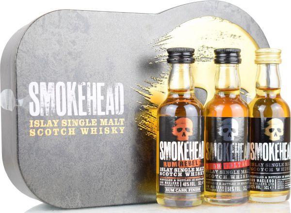 Smokehead Tasting Pack (Peated, High Voltage, Rum Rebel)