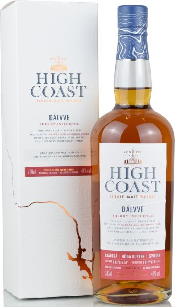 High Coast Dálvve Sherry Influence 48% vol.