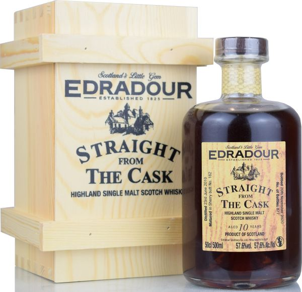 Edradour 10 Jahre 2010/2020 Sherry Cask Straight from the Cask #162 57,6% vol.