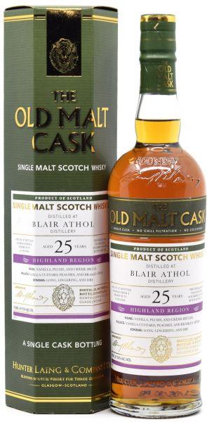 Blair Athol 25 Jahre 1995/2021 Sherry Cask Hunter Laing Old Malt Cask 50% vol.