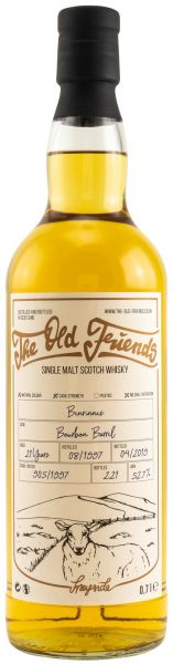 Benrinnes 21 Jahre 1997/2019 The Old Friends 52,7% vol.