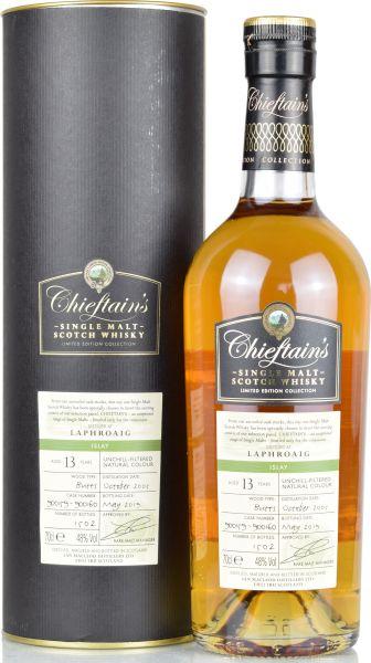 Laphroaig 13 Jahre 2005/2019 Chieftain's 48,0 % vol.