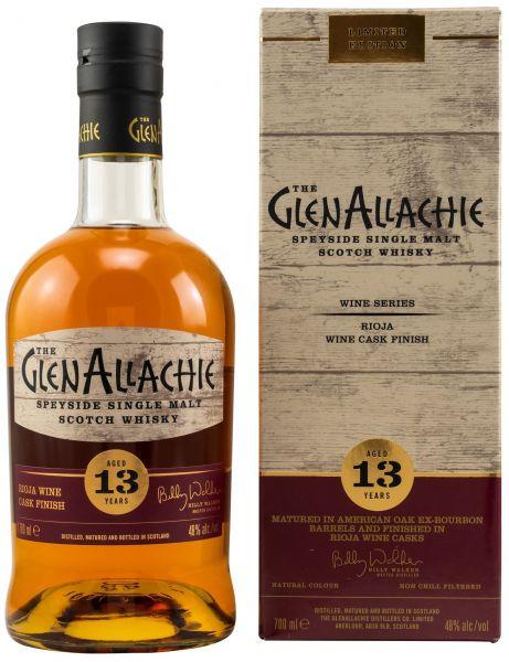 Glenallachie 13 Jahre Rioja Wine Cask 48,0% vol.