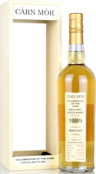 Mortlach 23 Jahre 1995/2019 Carn Mor Celebration of the Cask #4124 52,4% vol.