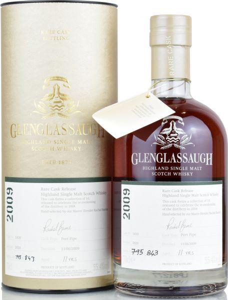 Glenglassaugh 11 Jahre 2009/2020 Port Single Cask #1830 55,4% vol.