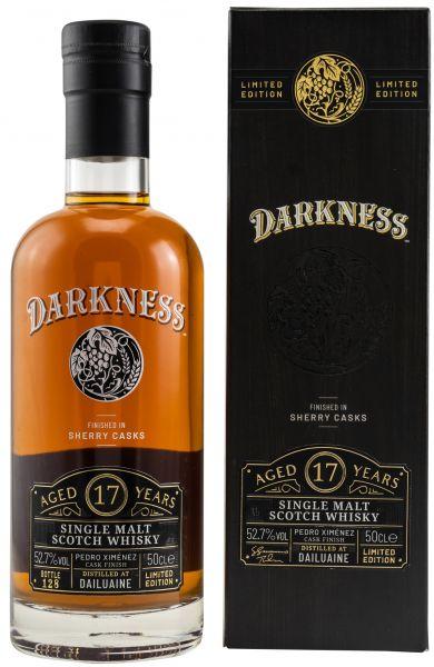 Dailuaine 17 Jahre PX Sherry Finish Darkness! 52,7% vol.