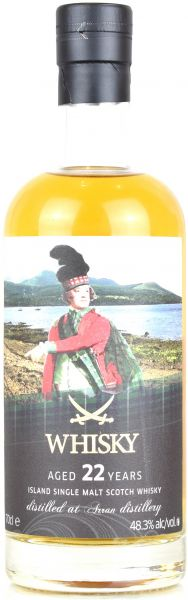 Arran 22 Jahre 1996/2019 Sansibar Whisky The Clans Label 48,3% vol.