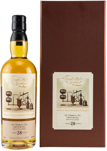 Imperial 28 Jahre The Single Malts of Scotland Marriage of Casks 40,8% vol.