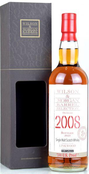 Linkwood 2008/2021 PX Sherry Cask Wilson & Morgan 57,1% vol.