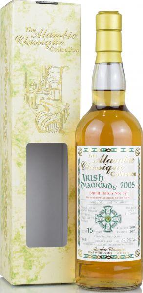 Irish Diamonds 15 Jahre 2005/2020 Batch No. 7 Laphroaig Octave Alambic Classique 58,7% vol.