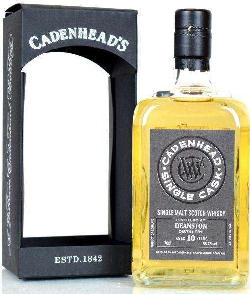 Deanston 10 Jahre 2008/2018 Single Cask Cadenhead's for Whiskypedia 56,7% vol.