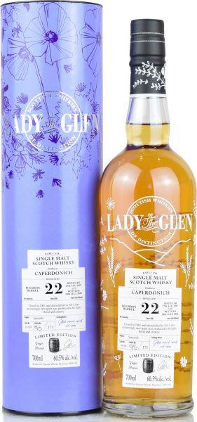 Caperdonich 22 Jahre 1997/2020 Lady of the Glen 60,5% vol.