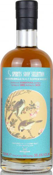 Tomintoul 14 Jahre 2005/2019 Sherry Cask Sansibar Chinese Birds Label 58,6% vol.