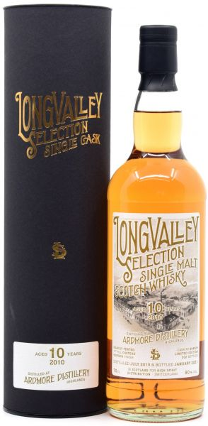 Ardmore 10 Jahre 2010/2021 1st Fill Chateau Kefraya Cask LongValley Selection 50% vol.
