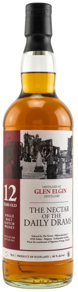 Glen Elgin 12 Jahre 2008/2020 The Nectar of the Daily Drams 46% vol.