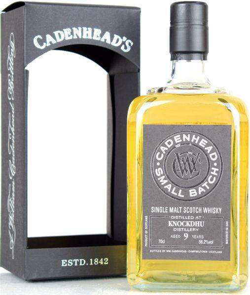 Knockdhu 9 Jahre 2010/2019 Cadenhead 56,2,% vol.