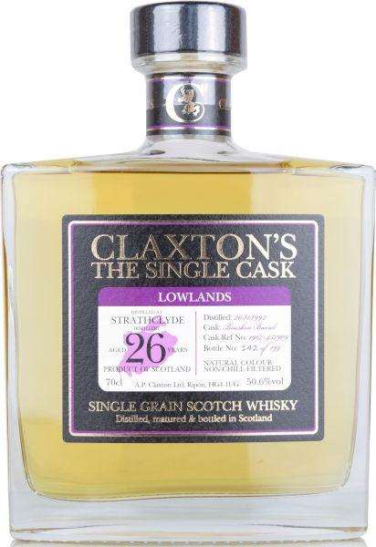 Strathclyde 26 Jahre 1992/2019 Claxton's 50,6% vol.