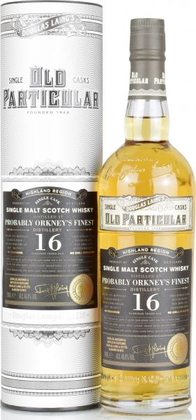 Probably Orkney's Finest 16 Jahre 2003/2019 Old Particular Douglas Laing 48,4% vol.