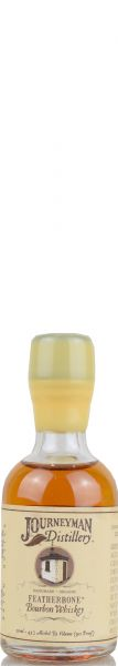 Journeyman Featherbone Bourbon Whiskey 45% vol. Miniatur 0,05 l