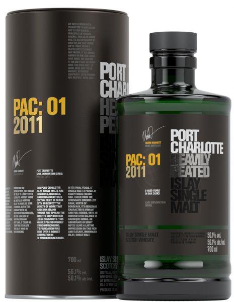 Port Charlotte PAC:01 2011 56,1% vol.