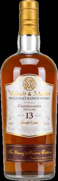 Craigellachie 13 Jahre 2007/2021 Sherry Cask Valinch & Mallet 54,1% vol.