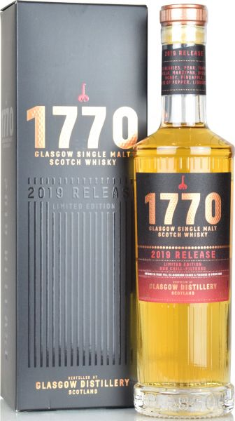 Glasgow Distillery 1770 Release 2019 Limited Edition 46% vol.