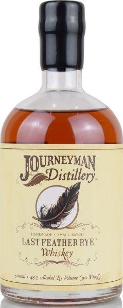 Journeyman Last Feather Rye Whiskey 45% vol.
