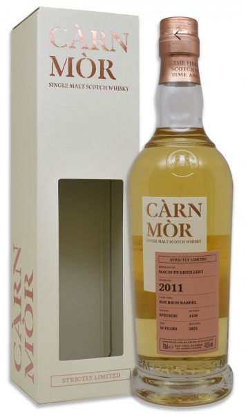 Macduff 10 Jahre 2011/2021 Carn Mor Strictly Limited 47,5% vol.