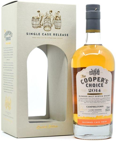 Campbeltown 2014/2021 Sauternes Cask Finish Cooper's Choice 55% vol.
