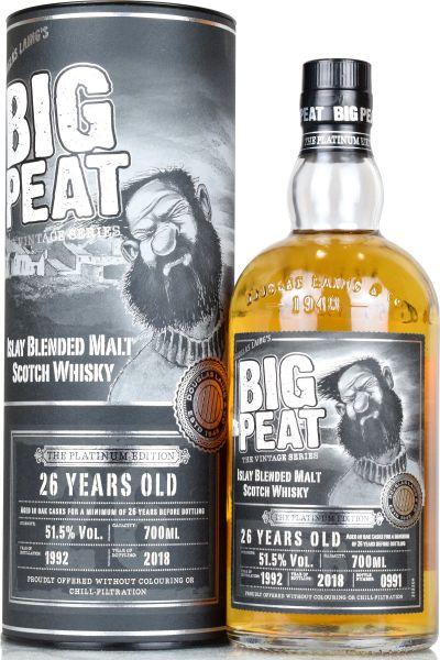 Big Peat 26 Jahre 1992/2018 The Platinum Edition