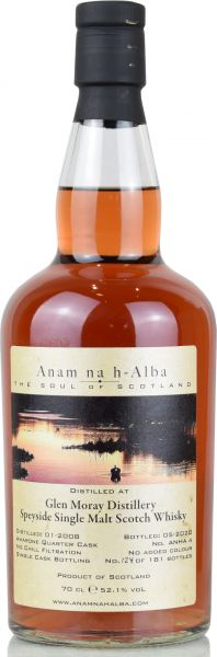 Glen Moray 12 Jahre 2008/2020 Amarone Cask Anam na h-Alba 52,1% vol.