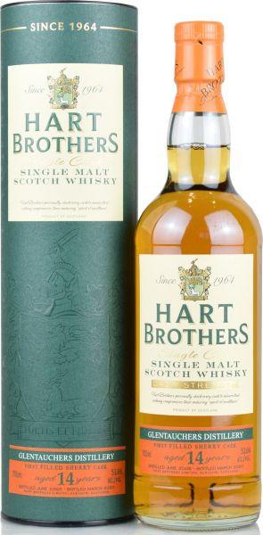 Glentauchers 14 Jahre 2005/2020 1st Fill Sherry Hart Brothers 53,6% vol.