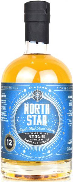 Fettercairn 12 Jahre 2006/2019 North Star Spirits #007 57,4% vol.