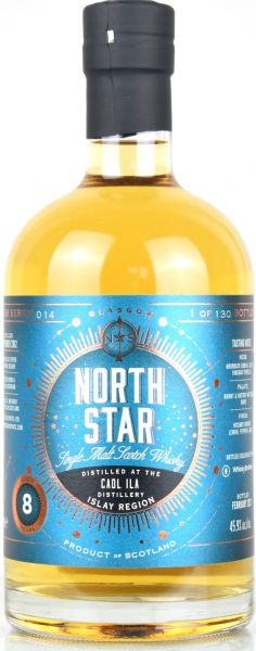 Caol Ila 8 Jahre 2012/2021 North Star Spirits for Whiskybrothers 45,9% vol.
