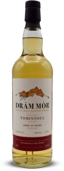 Tomintoul 15 Jahre 2005/2020 Sauternes Cask Dram Mor 56,1% vol.