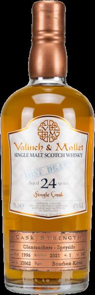 Glentauchers 24 Jahre 1996/2021 Valinch & Mallet 47% vol.