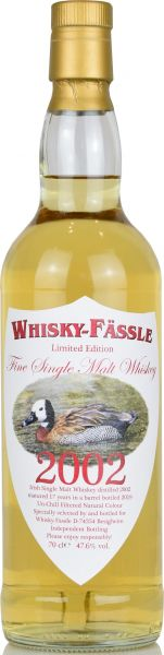 Irish Malt 17 Jahre 2002/2019 Whisky-Fässle Duck-Label 47,6% vol.