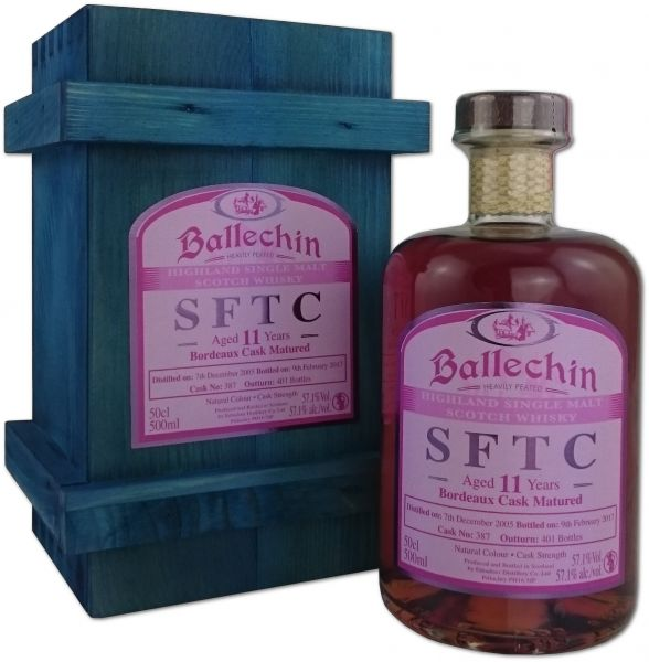 Ballechin 11 Jahre 2005/2017 Bordeaux Cask Straight from the Cask
