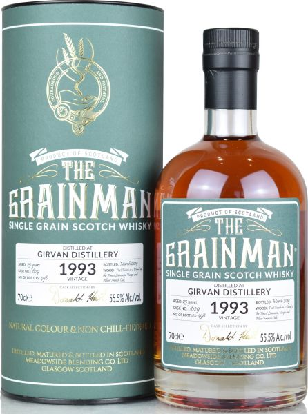 Girvan 25 Jahre 1993/2019 Port Cask The Grainman 55,5% vol.