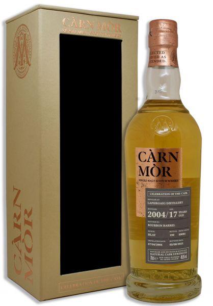 Laphroaig 17 Jahre 2004/2021 Carn Mor Celebration of the Cask #50084 48,6% vol.