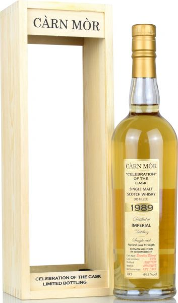Imperial 28 Jahre 1989/2018 Carn Mor Celebration of the Cask #2894 44,7% vol.