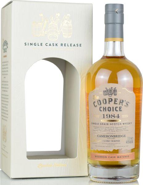 Cameronbridge 35 Jahre 1984/2019 Cooper's Choice 44,5% vol.