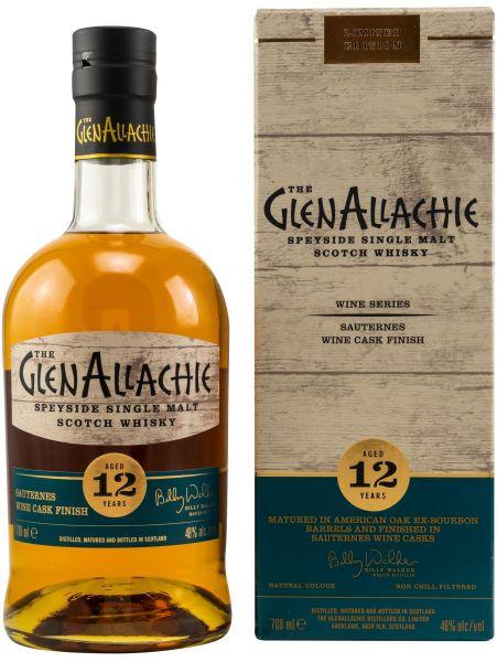 Glenallachie 12 Jahre Sauternes Wine Cask 48,0% vol.