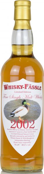 Orkney 17 Jahre 2002/2019 Sherry Butt Whisky-Fässle Duck-Label 49,1% vol.