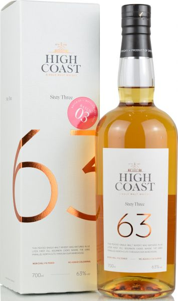 "High Coast ""63"" 63% vol."