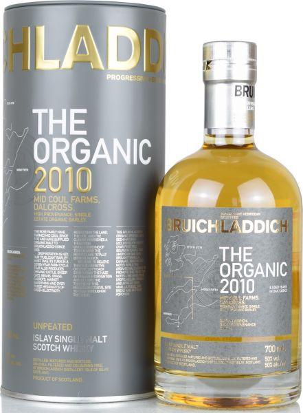 Bruichladdich The Organic 2010 50% vol.