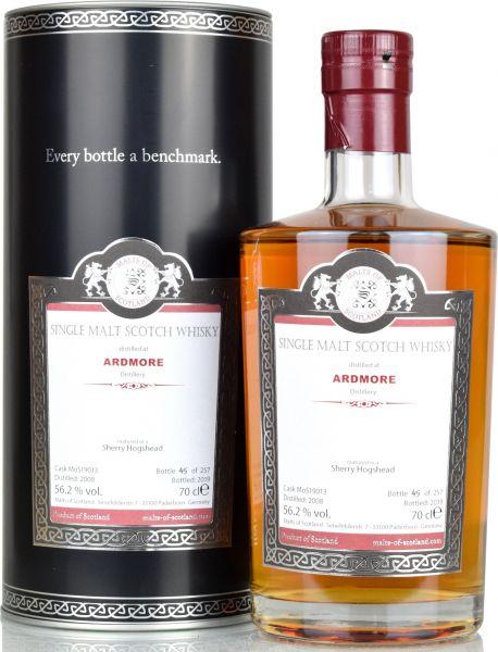 Ardmore 11 Jahre 2008/2019 Sherry Cask Malts of Scotland 56,2% vol.