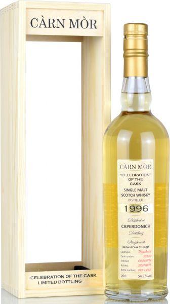 Caperdonich 22 Jahre 1996/2019 Carn Mor Celebration of the Cask #53630 54,9% vol.